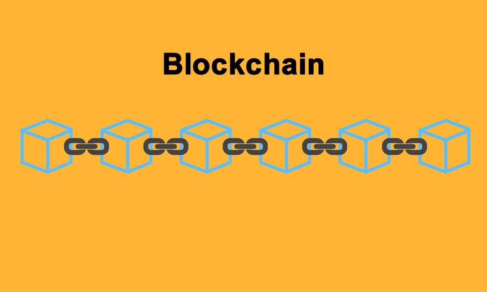 blockchain visual representation